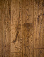 Solid Oak Hand Scraped Hardwood Flooring